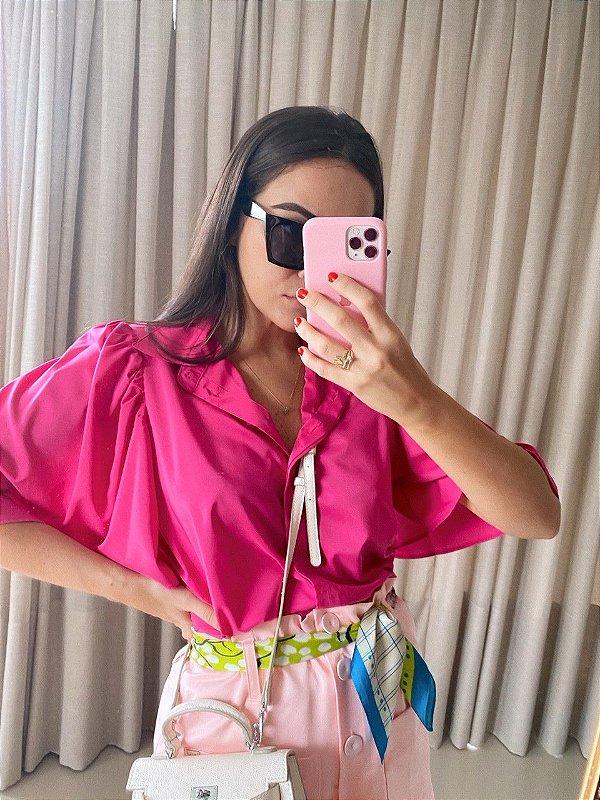 Camisa Madrid Pink