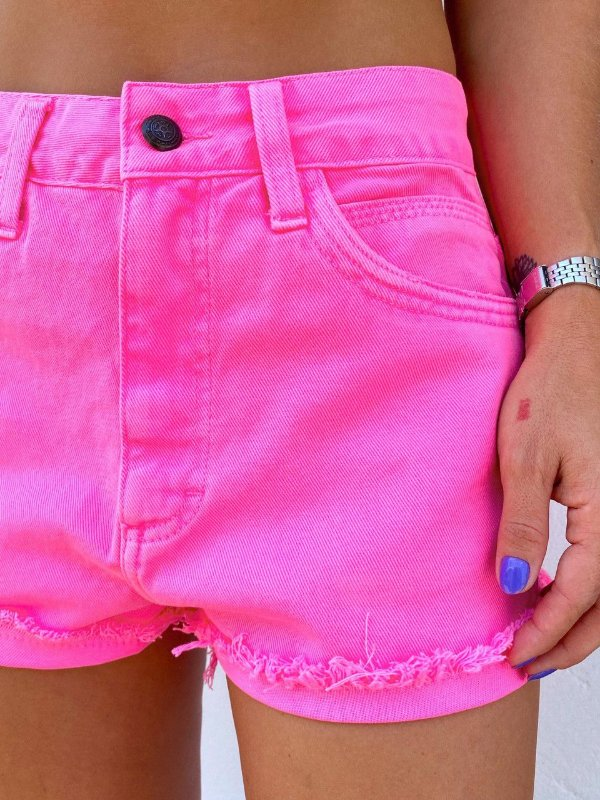 Shorts Luli Rosa Neon