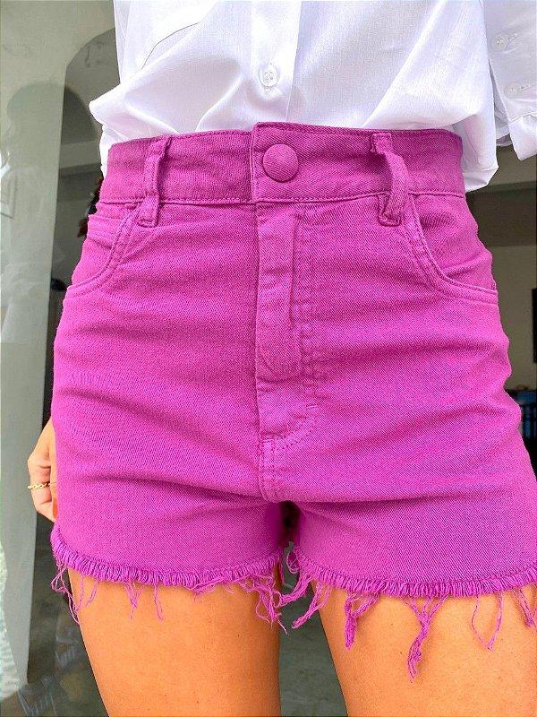 Shorts Paola Roxo