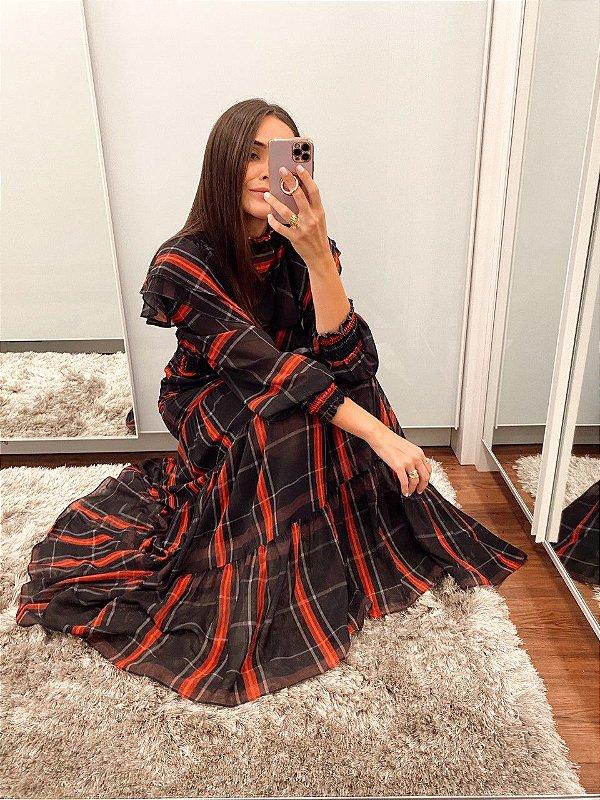 Vestido Elisabeth Preto