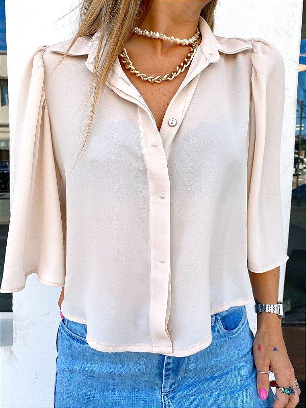 Camisa Clarisse Marfim