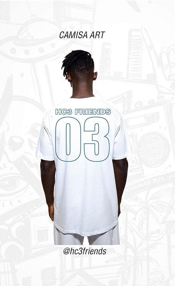 365938dbe67a Camisa Seleção Hc3 Friends - Loja de Roupas e Acessórios Criativas ...