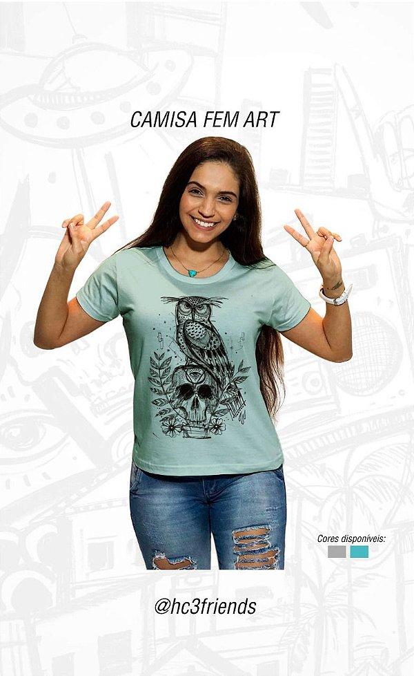 aecd49fc5f3e Camisa Feminina Art Coringa - Loja de Roupas e Acessórios Criativas ...