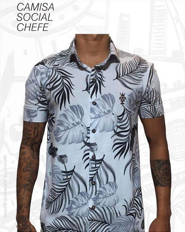 1efed235734c Camisa Social Chefe Floral - Loja de Roupas e Acessórios Criativas ...