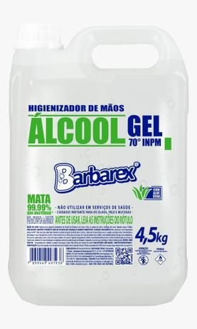 Barbarex Álcool gel 70 5L