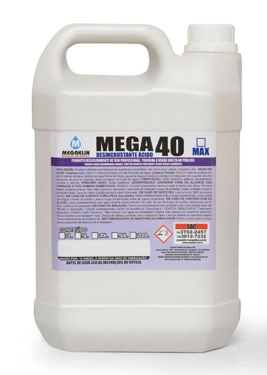 Megaklin Desincrustante Ácido 5L