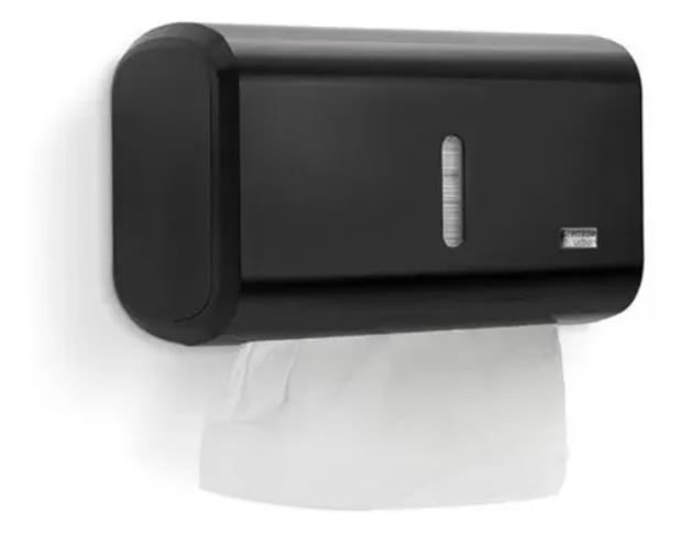 Premisse Dispenser Compacto para Papel Toalha Dark 2 ou 3 dobras