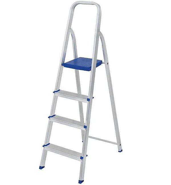 Mor Escada de Alumínio 4 degraus