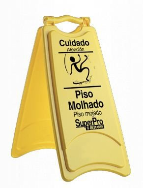 Bettanin Placa de Sinalização - Piso Molhado
