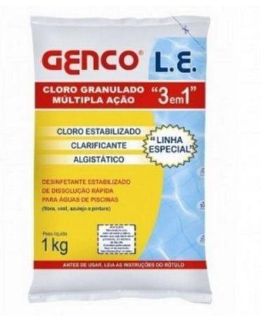 Genco Cloro Granulado 3 em 1 c/ 1 kg
