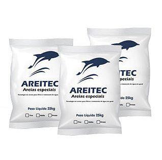 Areitec Areia Especial para Filtros - 25kg