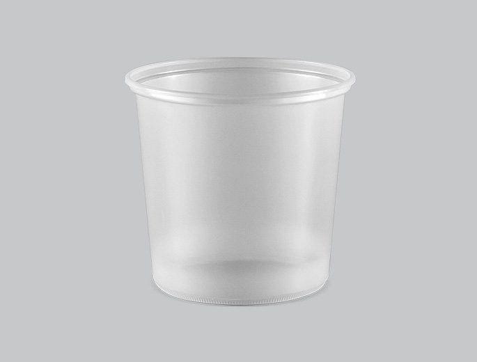 Copaza Pote 500 ml Transparente