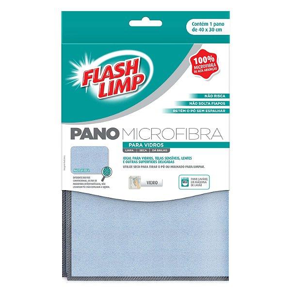 Flash Limp Pano Microfibra p/ vidros