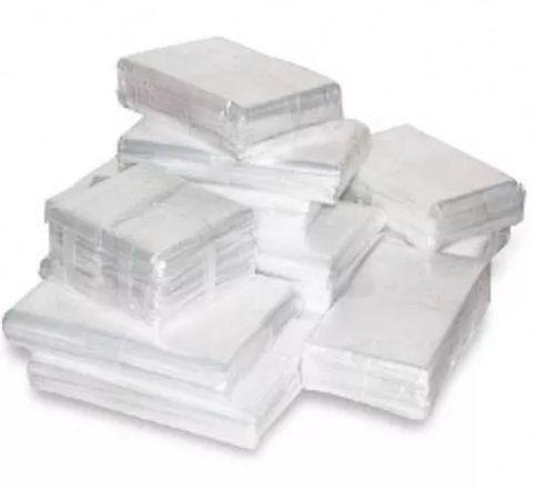 Saco Plástico Virgem de Polietileno Transparente 1kg