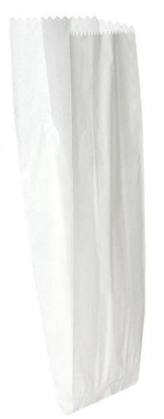 Saco de Papel Branco Para Talher c/ 500 un.