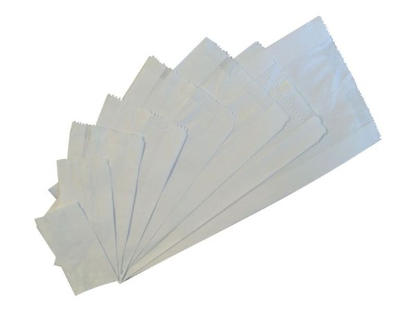 Sacos de Papel Branco Monolúcido
