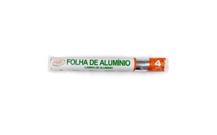 Mello Papel Alumínio 30 cm x 4,0 Metros