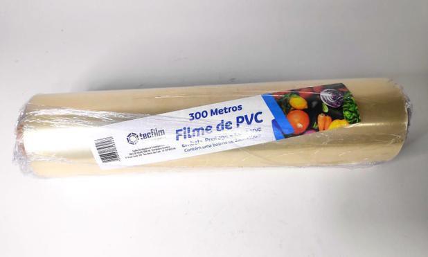 Filme de PVC 28 cm x 300 m.