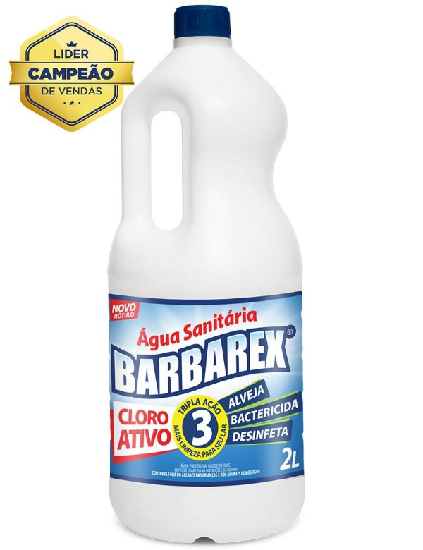 Barbarex Água Sanitária 2 Litros