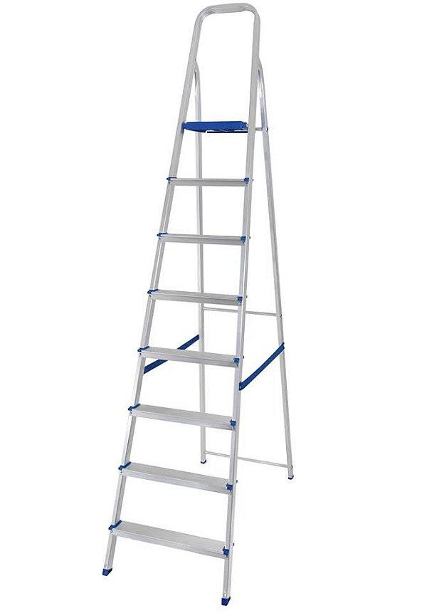 Mor Escada de Alumínio 8 degraus