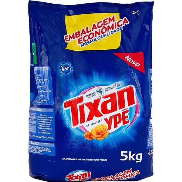 Ype Tixan Sabão em Pó 5 Kg