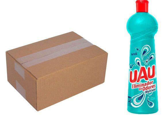 Uau Multiuso Eliminador de Odores 500 ml c/ 24 un.