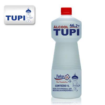 Tupi Álcool Perfumado 46,2° Talco 1L