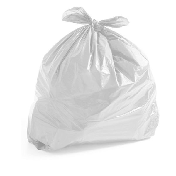 Saco De Lixo 100L Branco c/ 50 un.