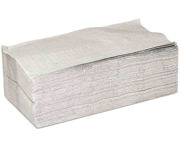 Papel Toalha Interfolha Intermediário 22 cm x 21 cm c/ 1000 un.