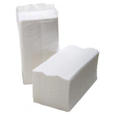 Papel Toalha Interfolha 100% Celulose 22 cm x 21 cm c/ 1000 un.