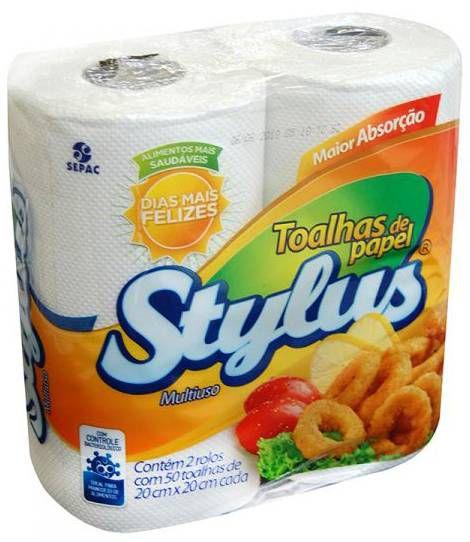 Stylus Papel Toalha C/ 2 un