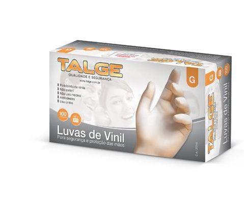 Talge Luva Vinil G C/ 100 un.