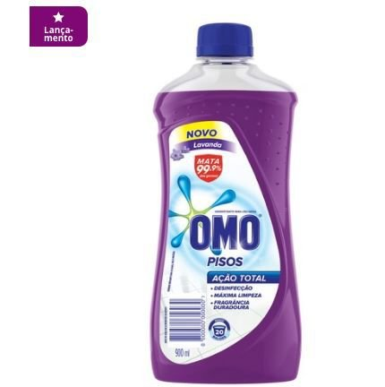 Omo Limpa Pisos Lavanda 900 ml