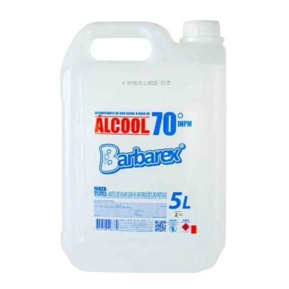 Barbarex Álcool líquido 70 5L