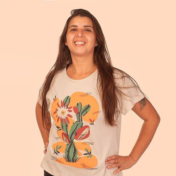 Camiseta Bata Korui - Mandacaru