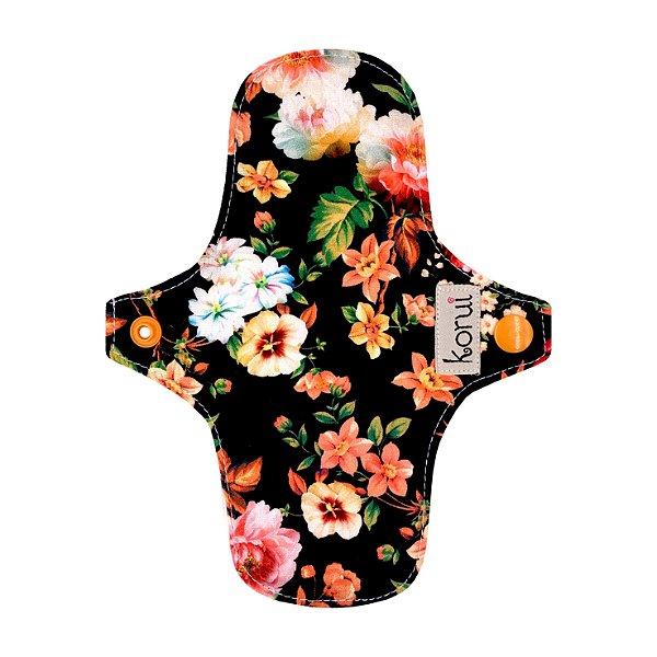 Protetor de Calcinha com abas - Flores