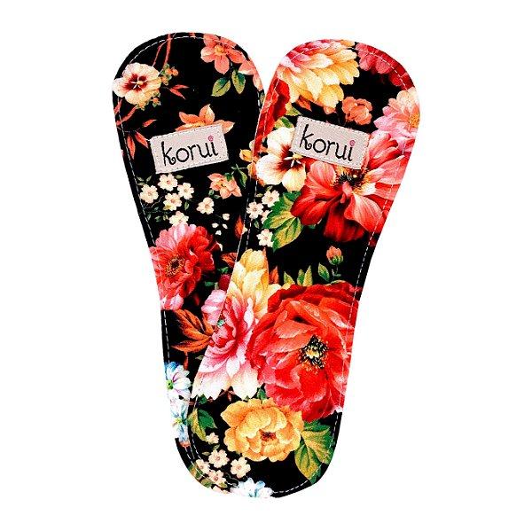 Protetor de Calcinha sem abas - Flores (2 unidades)