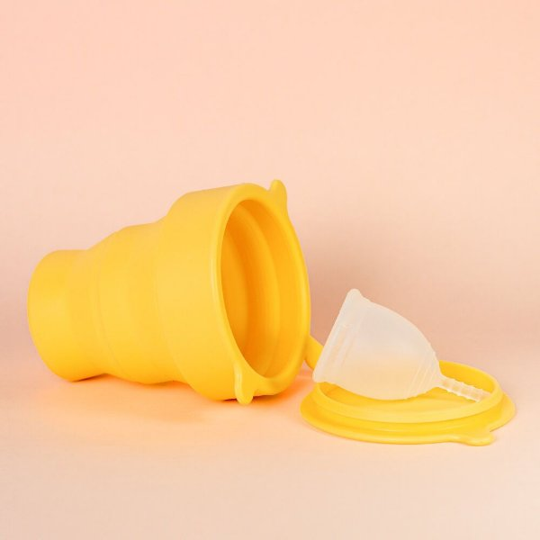 Kit Copo Esterilizador Sol + Coletor Menstrual
