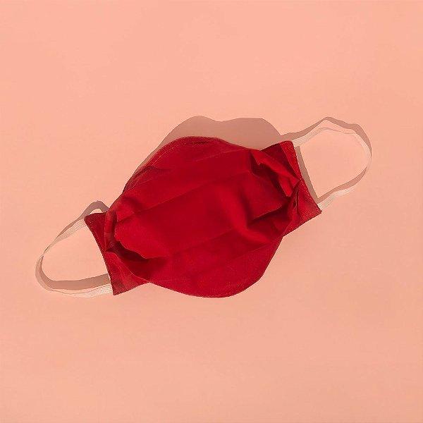 Máscara de tecido 100% algodão - Fogo