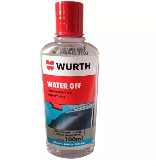 Water Off Cristalizador De Parabrisa Wurth 100ml