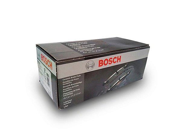 Jogo pastilhas Dianteiras Cerâmica Bosch Volkswagen Jetta 2.0 2010 até 2016 - Ver medidas
