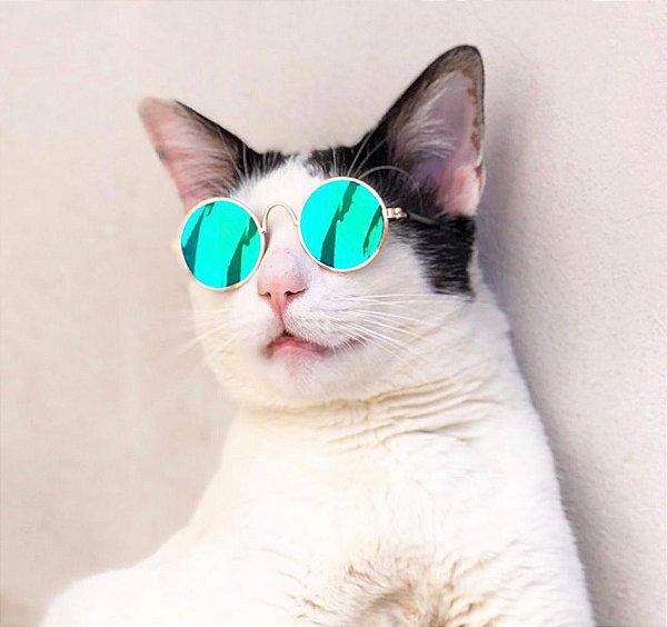Óculos Verde Espelhado