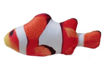 Peixe Nemo com Catnip