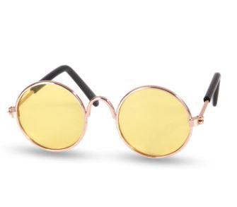 Óculos Amarelo Transparente