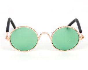 Óculos Verde Transparente