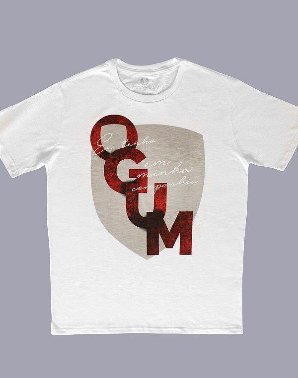 Camiseta Ogum em minha companhia