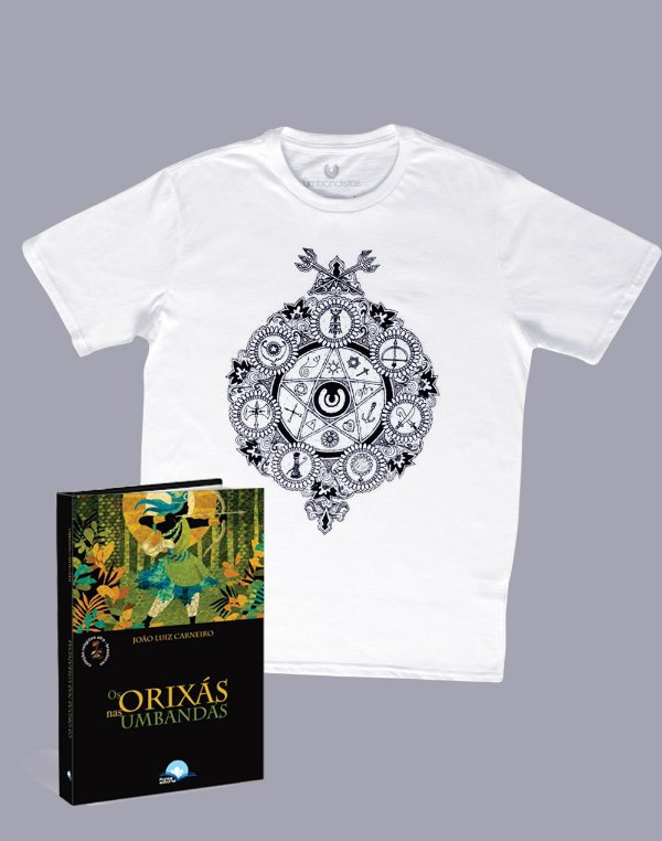 Mandala Templo dos Saberes + Livro Orixás nas Umbandas