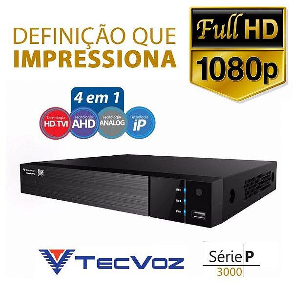 DVR 5 EM 1 TECVOZ 4 CANAIS FULL HD - TW-P3004