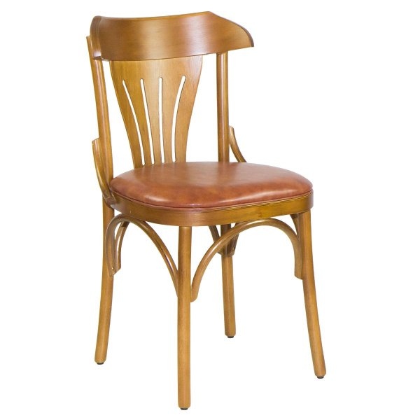 Cadeira Madeira Lotus Para Mesa de Jantar Courino
