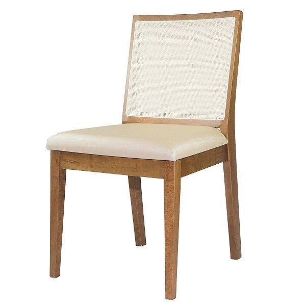 Cadeira Para Mesa de Jantar Dora Madeira Maciça